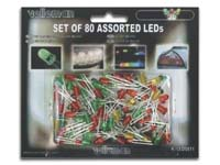 80 Assorted LED's K/LED1