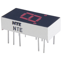 7 Segment LED Display Red Common Anode NTE3052