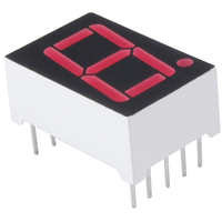 7 Segment LED Display Red Common Anode NTE3078