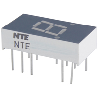 7 Segment LED Display Green Common Anode NTE3054
