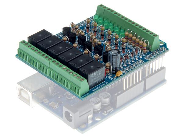 I/O Shield Arduino Kit KA05