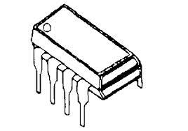 LM741N Op Amp IC