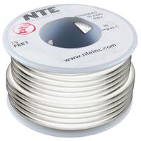 Hook Up Wire 300V Stranded 18AWG White