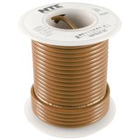 Hook Up Wire 300V Stranded 24AWG Brown