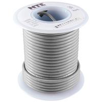 Hook Up Wire 300V Stranded 24AWG Gray