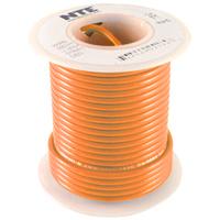Hook Up Wire 300V Solid 22AWG Orange