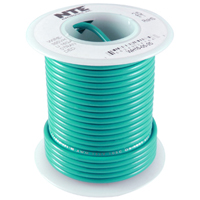 Hook Up Wire 300V Solid 22AWG Green