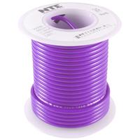 Hook Up Wire 300V Solid 24AWG Violet