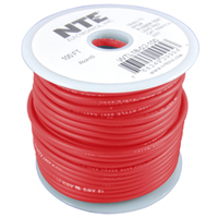 Test Lead Wire Red Stranded 18AWG