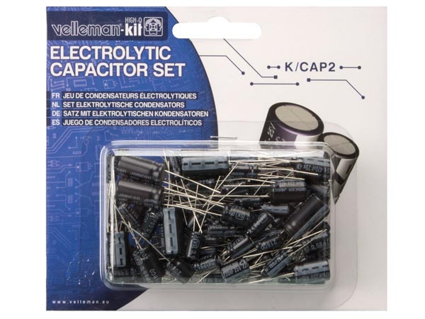 120pc Electrolytic Capacitors Set