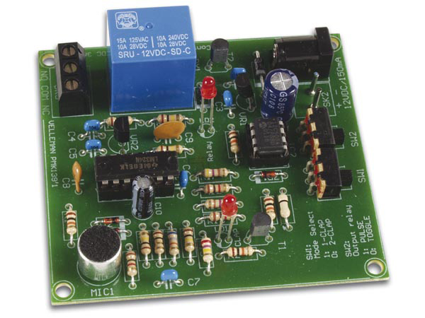 Clap ON/Off Switch Kit Velleman MK139