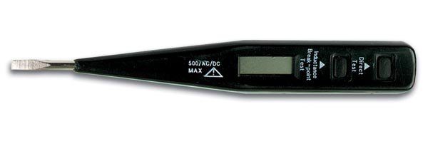 Digital Voltage Tester w/LCD
