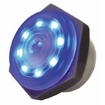 Blue Lighted Continuous Piezo Sounder