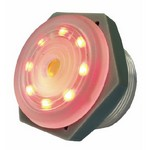 Red Lighted Continuous Piezo Sounder